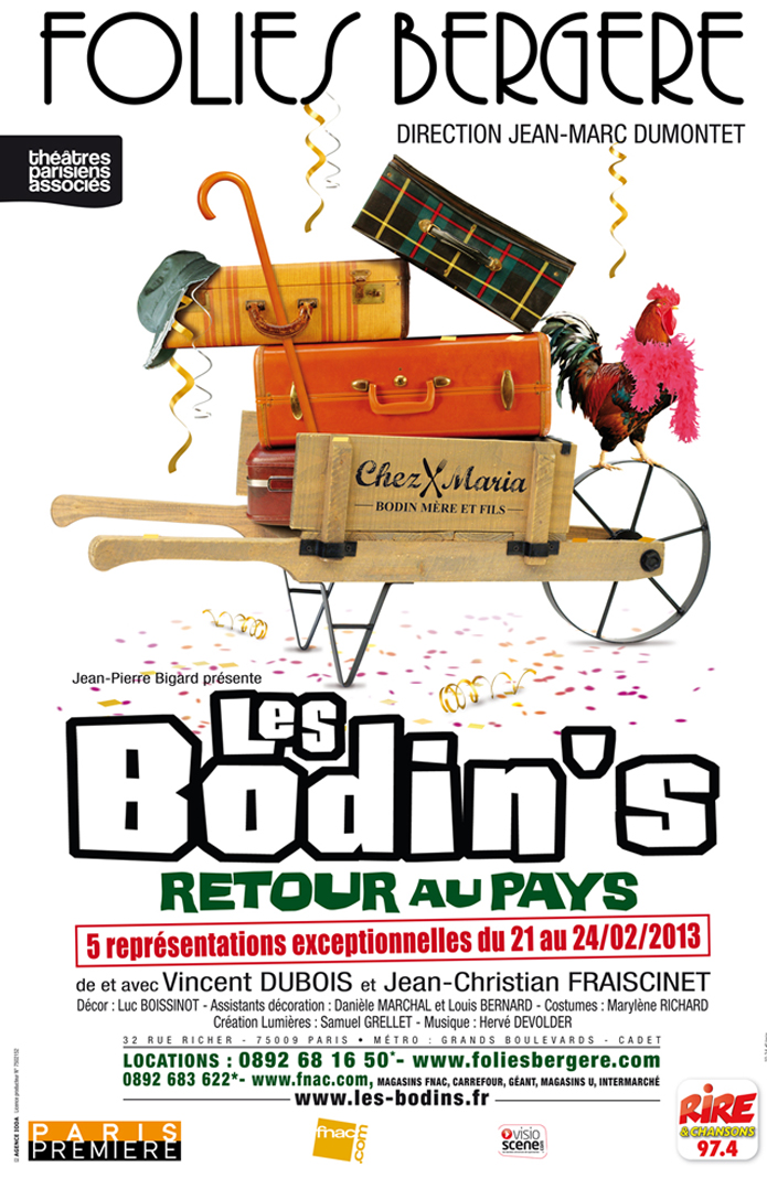Les Bodin\'s font le grand écart aux Folies Bergères