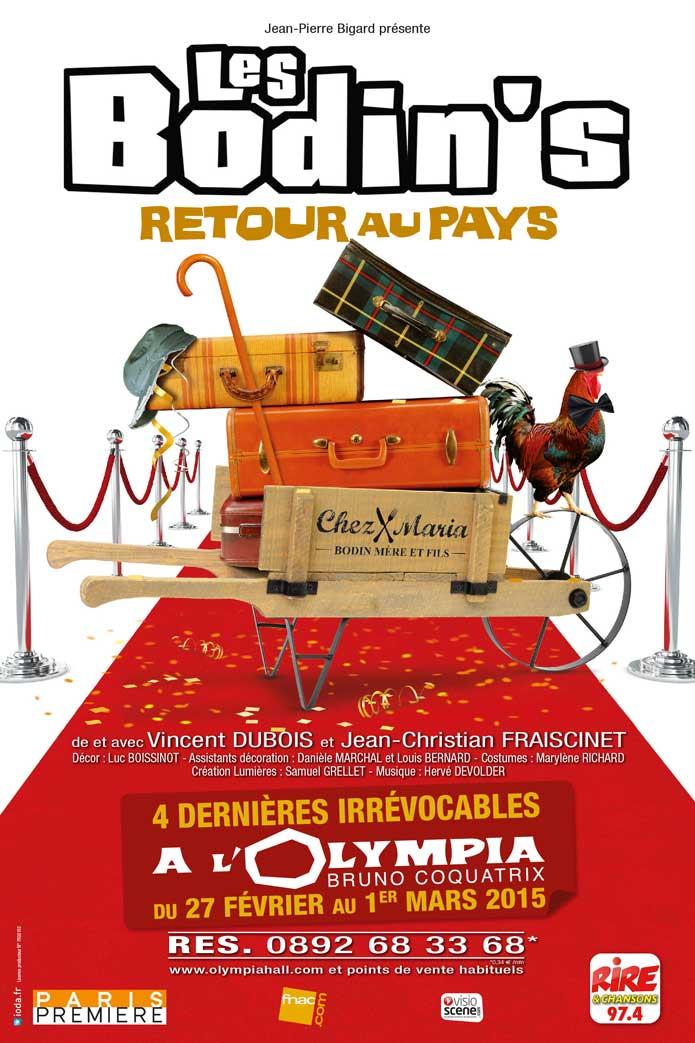 Les Bodin's à l'Olympia - Retour au Pays - Les Bodin's