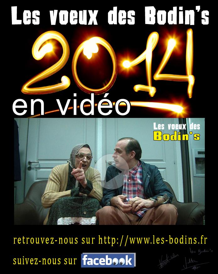 Les voeux des Bodin's pour 2014