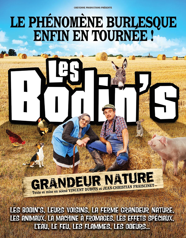 Nouvelles dates - les Bodin's Grandeur Nature en tournée
